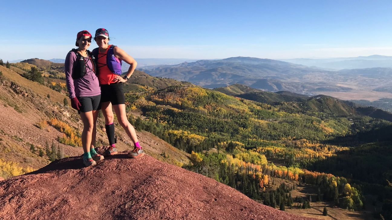After years of struggling with the aftermath of the 1999 Columbine shooting, Laura Hall and Sarah Bush have used running as a method to overcome the anxiety.
