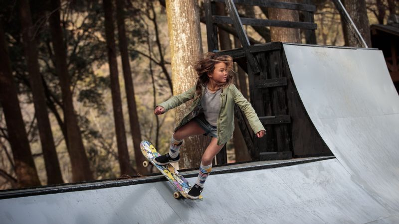 Sky Brown has set her sights on Tokyo 2020, where the sport makes its Olympic debut along with surfing, karate and sport climbing.