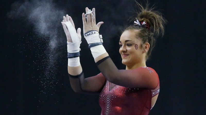 Maggie Nichols, the defending all-around champion, has been injured this season, but still dominates on any event she does. And the Oklahoma team will look to win the national title it just missed in 2018.