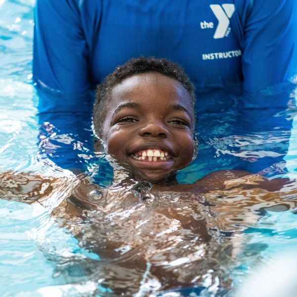 All smiles at the I Promise swim camp.