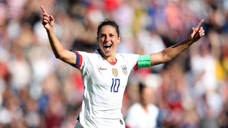 USA vs. Chile ( Carli Lloyd celebration)