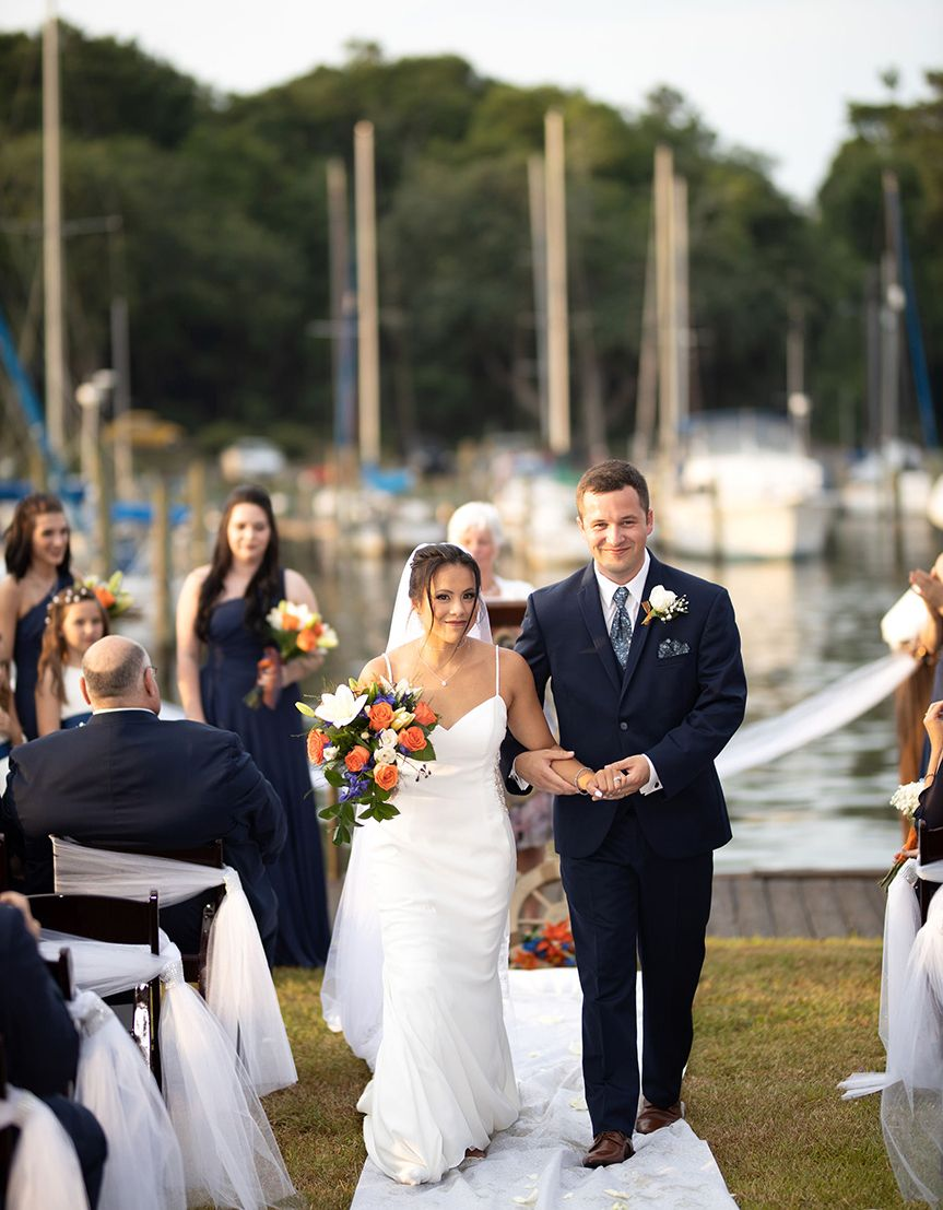 From the outside, it seemed impossible. But Sam Cerio never doubted that she would walk down the aisle less than two months after her gymnastics accident, 25 steps in total.