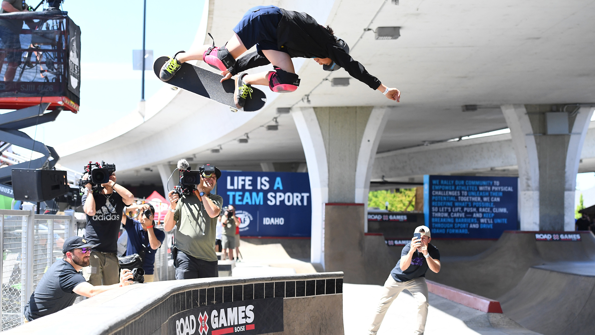 Japan's Misugu Okamoto just earned her first invite to X Games.
