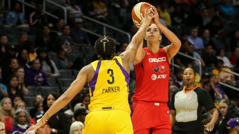 Elena Delle Donne credited Washington's bench and offensive prowess to the Mystics' early start. Can they improve defensively to win their first WNBA title this year?