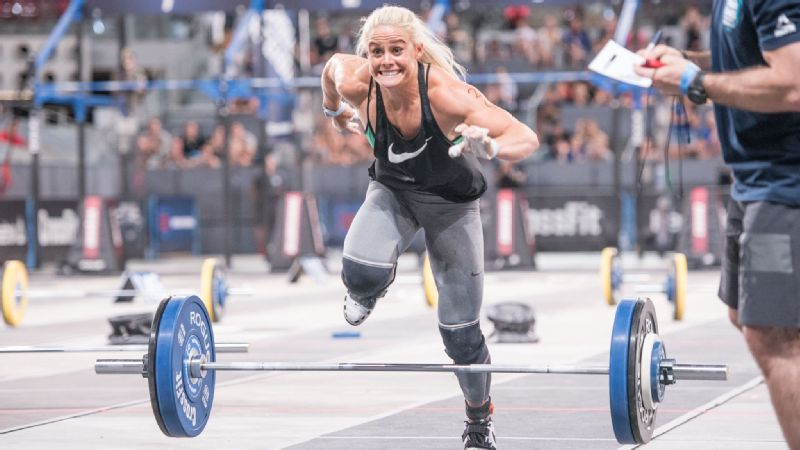 A freak rib injury forced Sara Sigmundsdottir to withdraw from last year's CrossFit Games, but this year, she could challenge for the title.