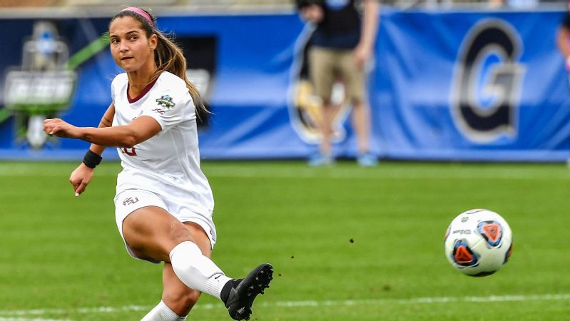 In her first two seasons as a striker, Deyna Castellanos had 26 goals in 33 games. As a junior, she scored 10 goals and helped lead Florida State to the national championship.