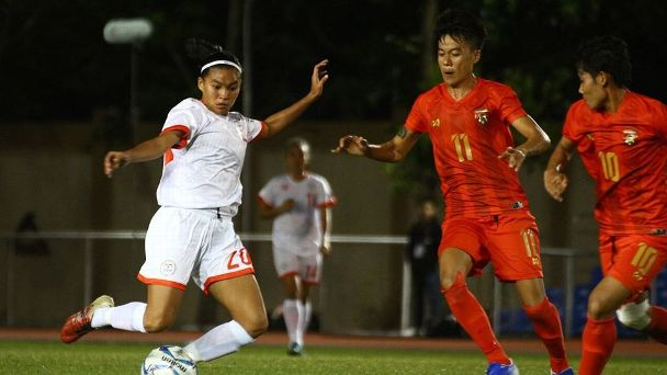 The Malditas battled Myanmar to a goalless draw.