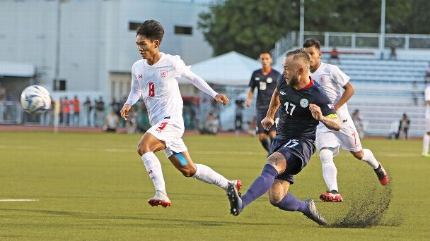 Stephan Schrock tried to make things happen against Myanmar.