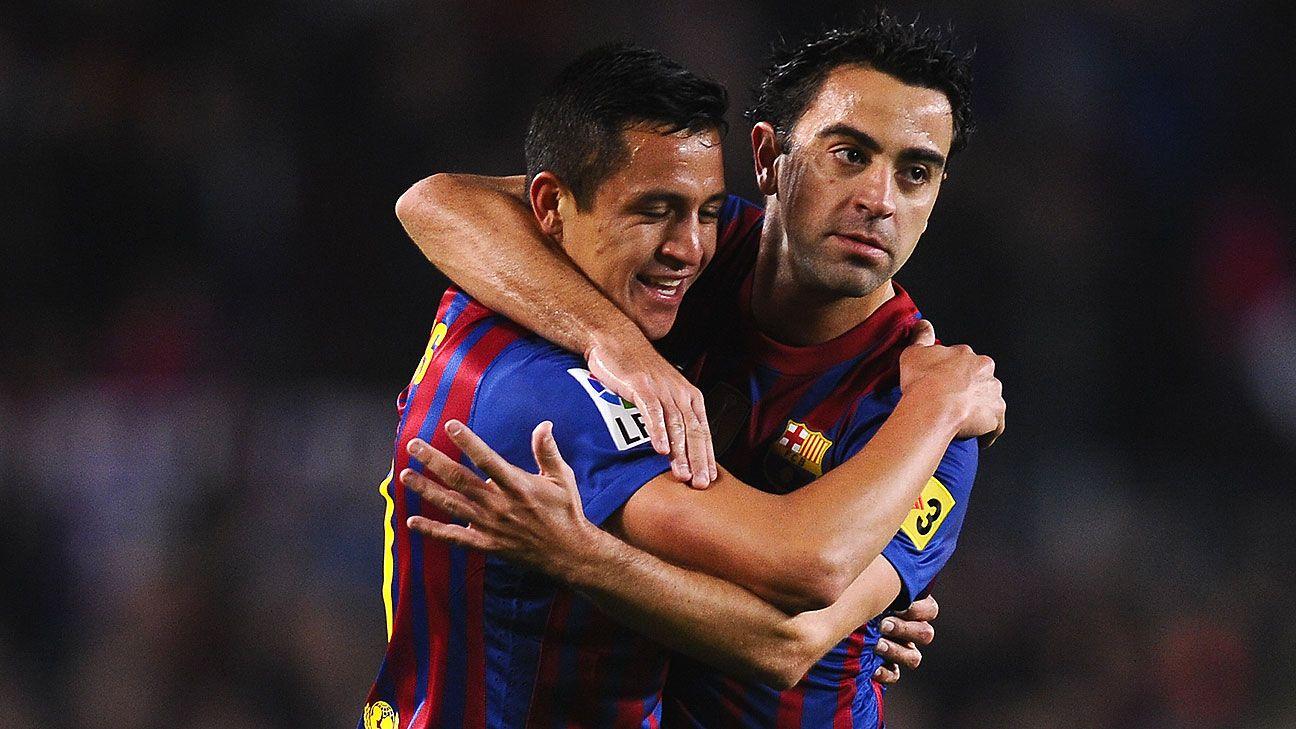"""Xavi: """"Alexis es uno de los mejores delanteros de Europa""""  Xavier Sanchez Choreographer"""