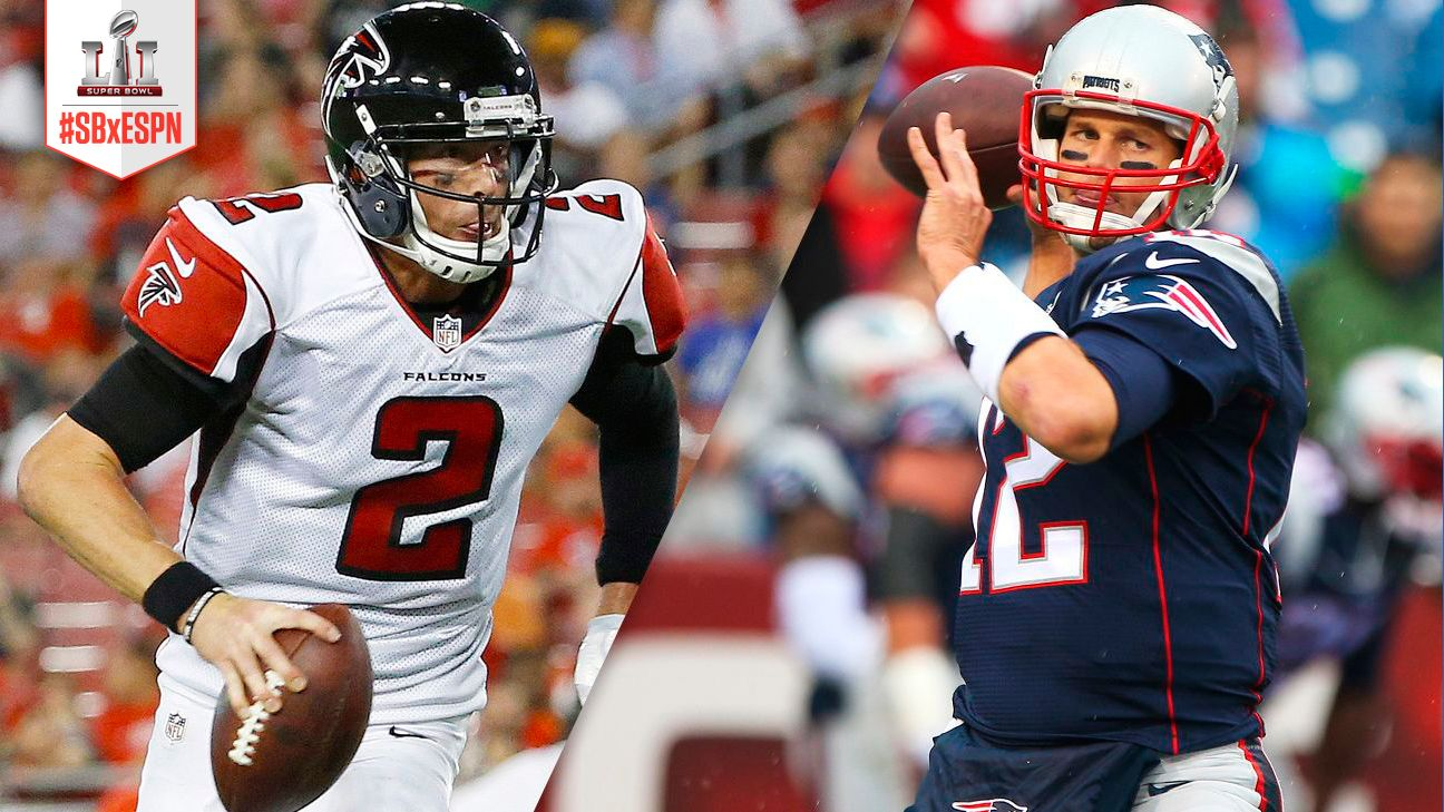 b9857197b Estadísticas claves de Patriots y Falcons rumbo al Super Bowl LI