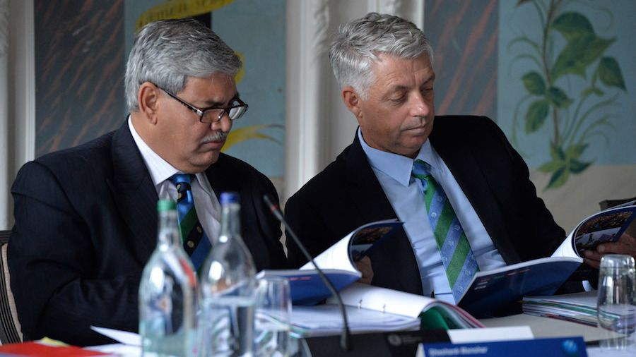 ICC chairman says BCCI's letter and the concerns expressed in it will be placed before the board
