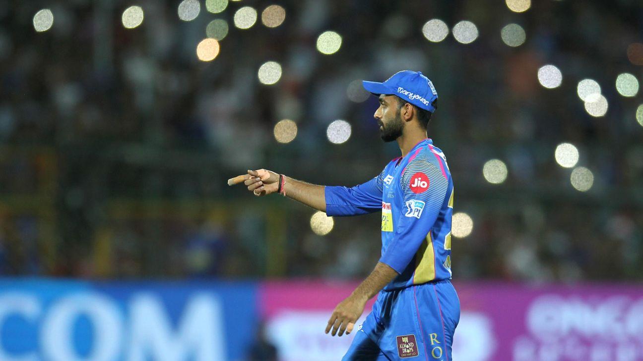 Ajinkya Rahane moves from Rajasthan Royals to Delhi Capitals