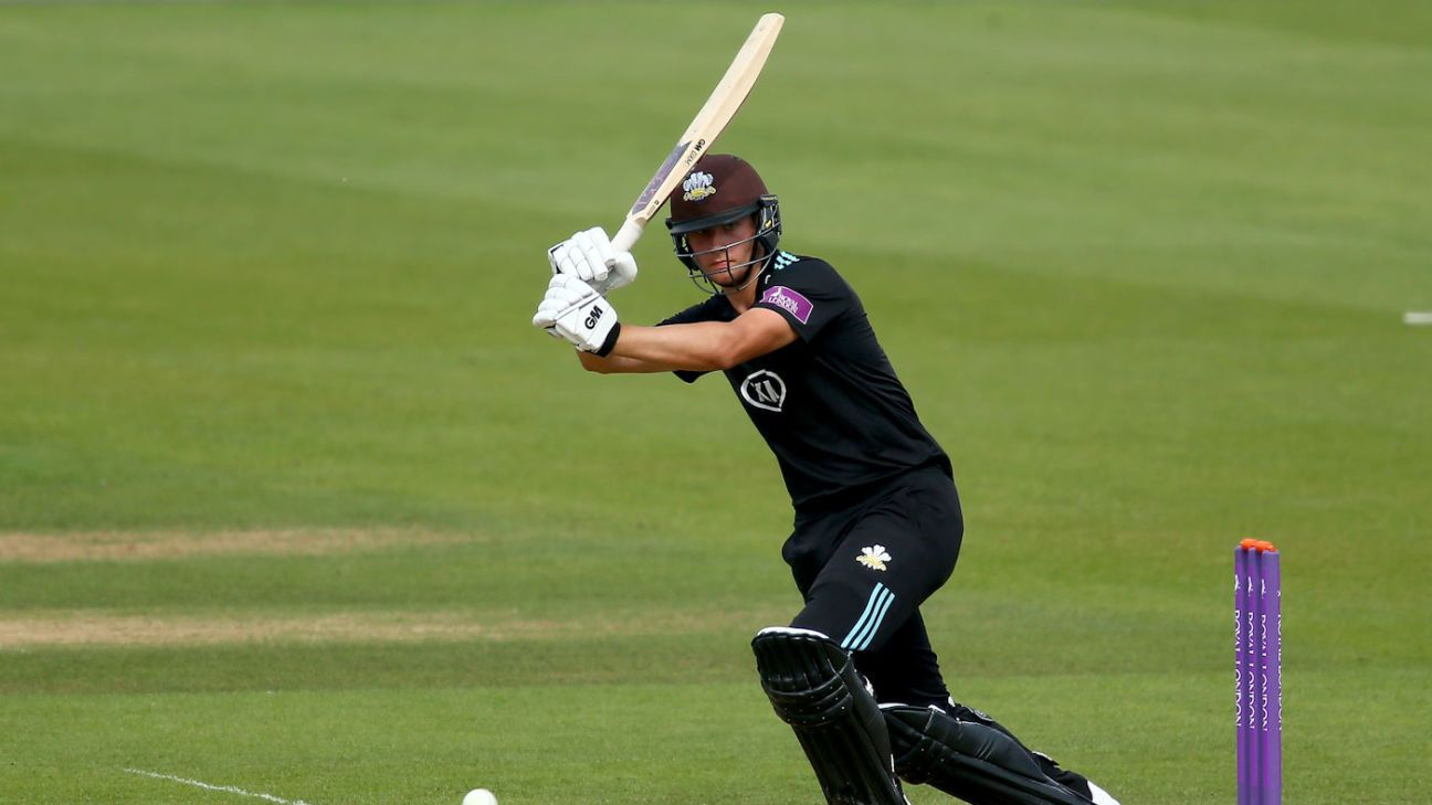 Surrey's Will Jacks hits 25-ball ton, six sixes in an over