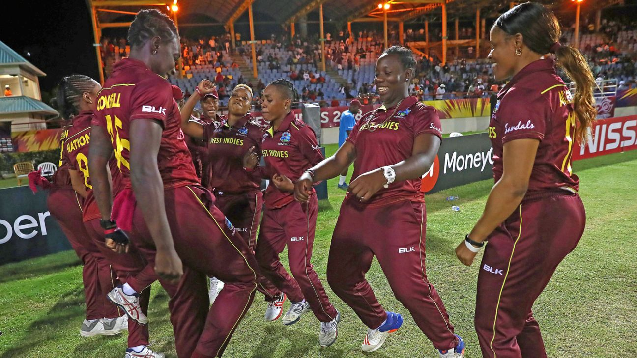 Gus Logie named interim head coach of West Indies women