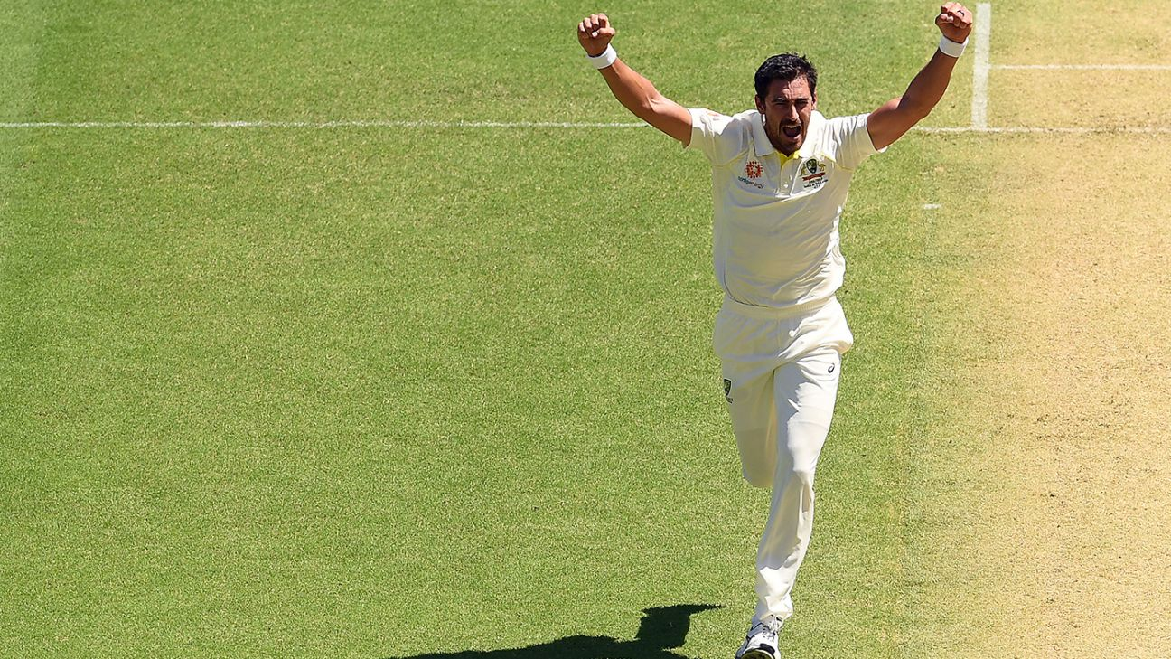 Starc rediscovers his 2015 World Cup swing