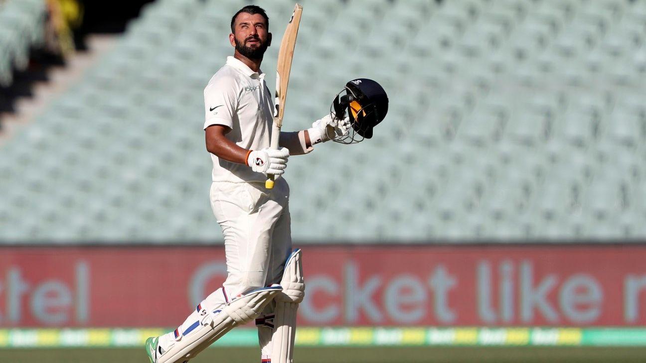 'One of my top five innings' - Cheteshwar Pujara on the Adelaide century