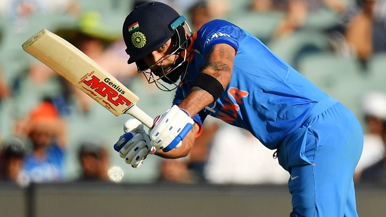 'The key is to not panic when you see 300 posted' - Virat Kohli