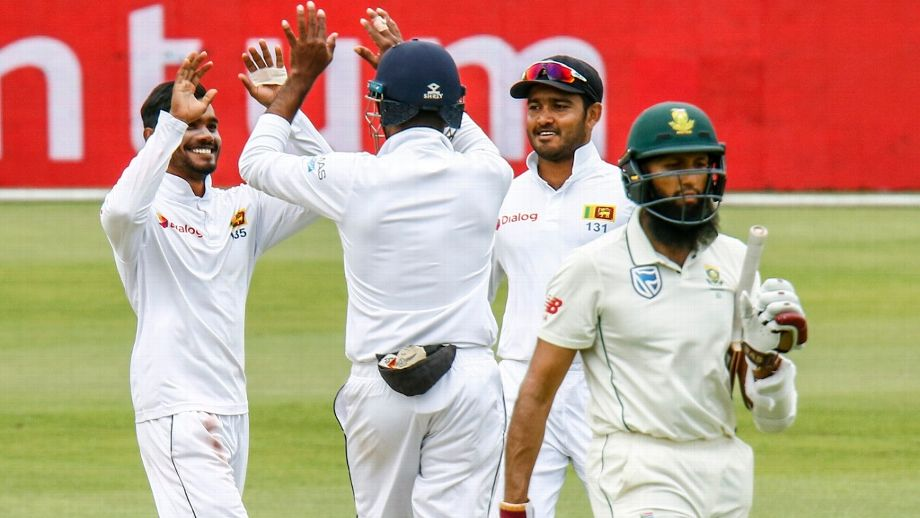 Batting coach admits to his side being taken aback by Sri Lanka's relentless attack with the ball