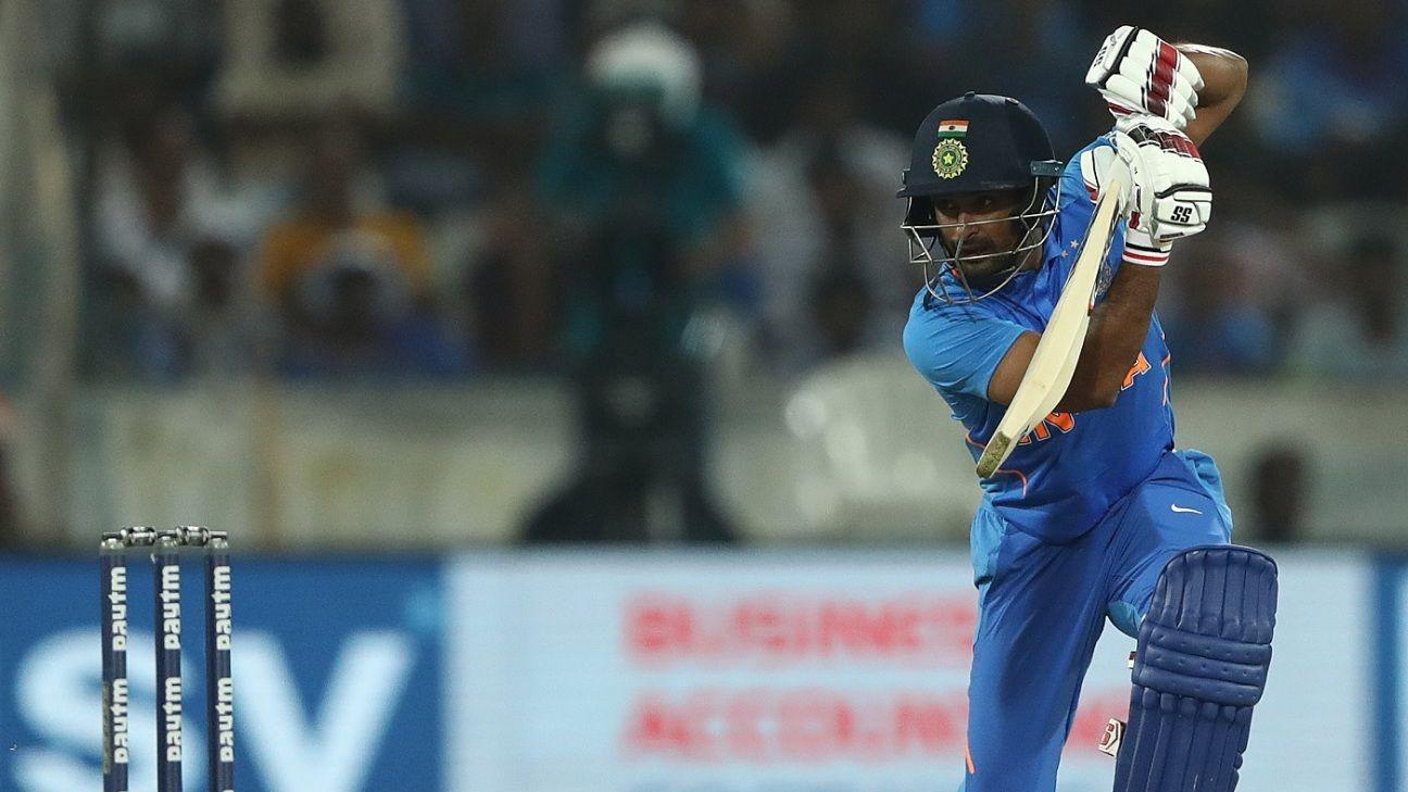 Vijay Shankar nudges ahead in middle-order race