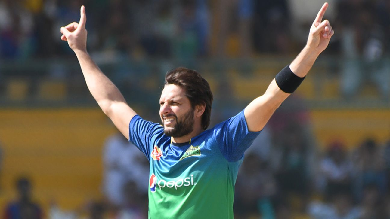 Shahid Afridi to turn out for Qalandars in T10 League