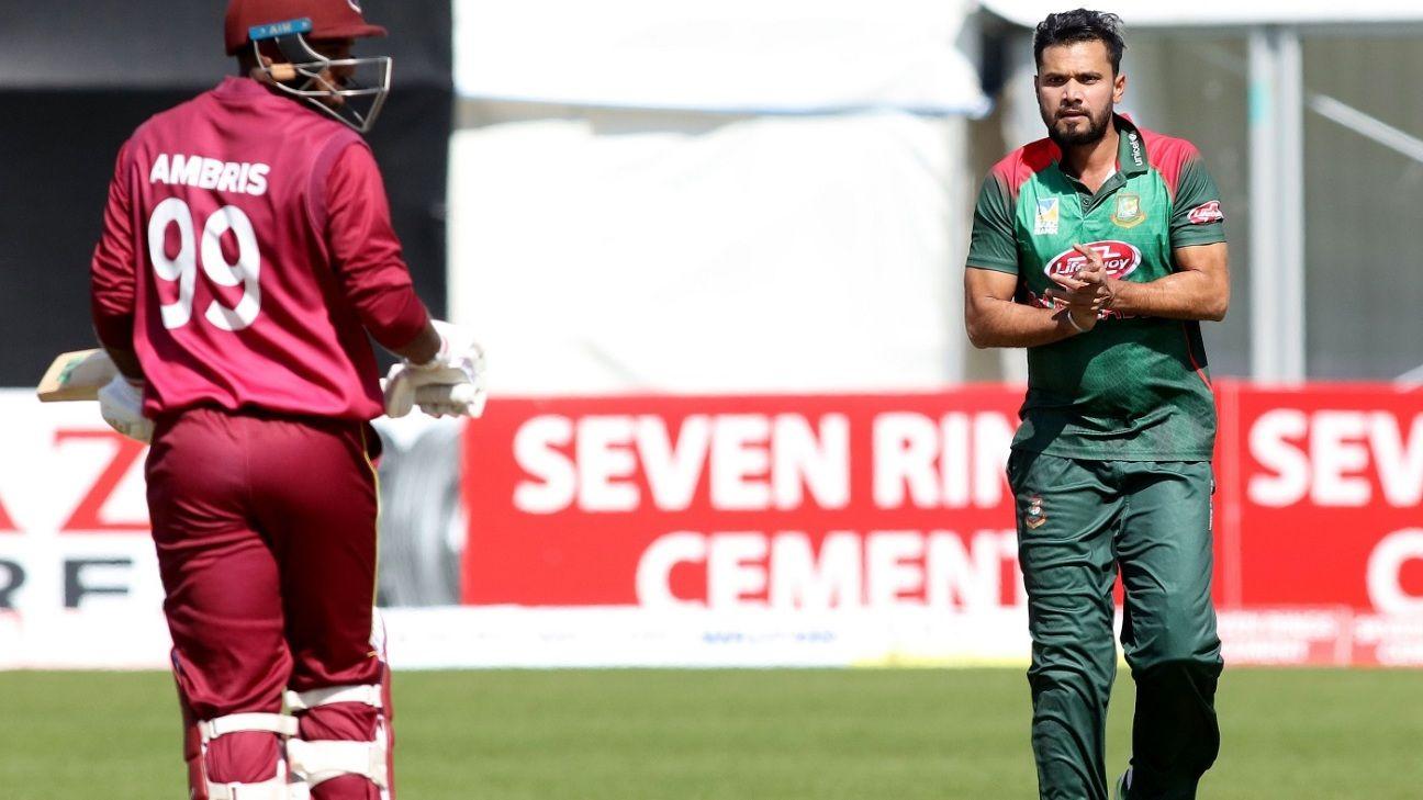 Live Report - Bangladesh v West Indies