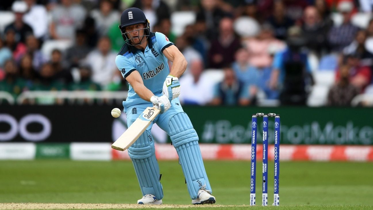 Jos Buttler reports for England training after recovering from thigh bruising