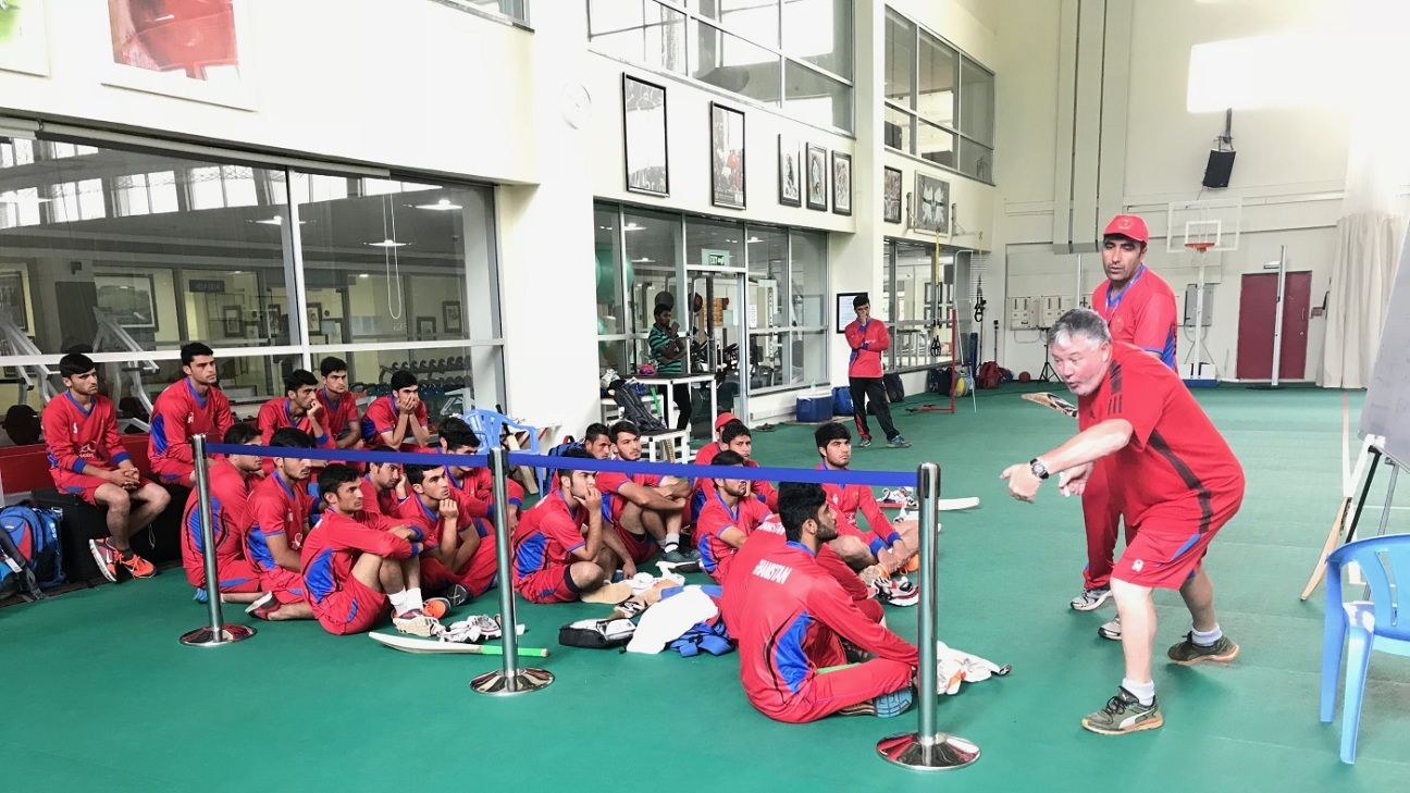 Andy Moles to be Afghanistan's director of cricket
