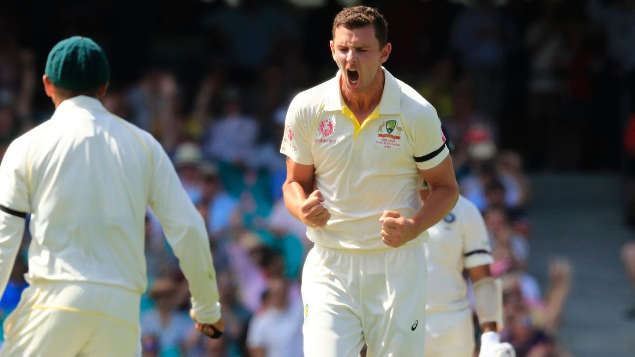 Hazlewood learns lessons from past Ashes disappointment