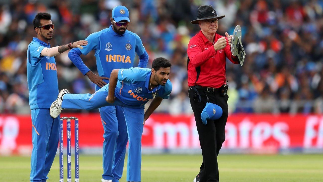 Hamstring injury puts Bhuvneshwar out of Pakistan game