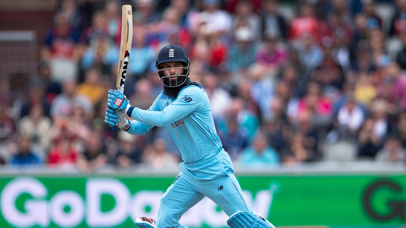 That's a lot of sixes, but I hit the biggest - Moeen