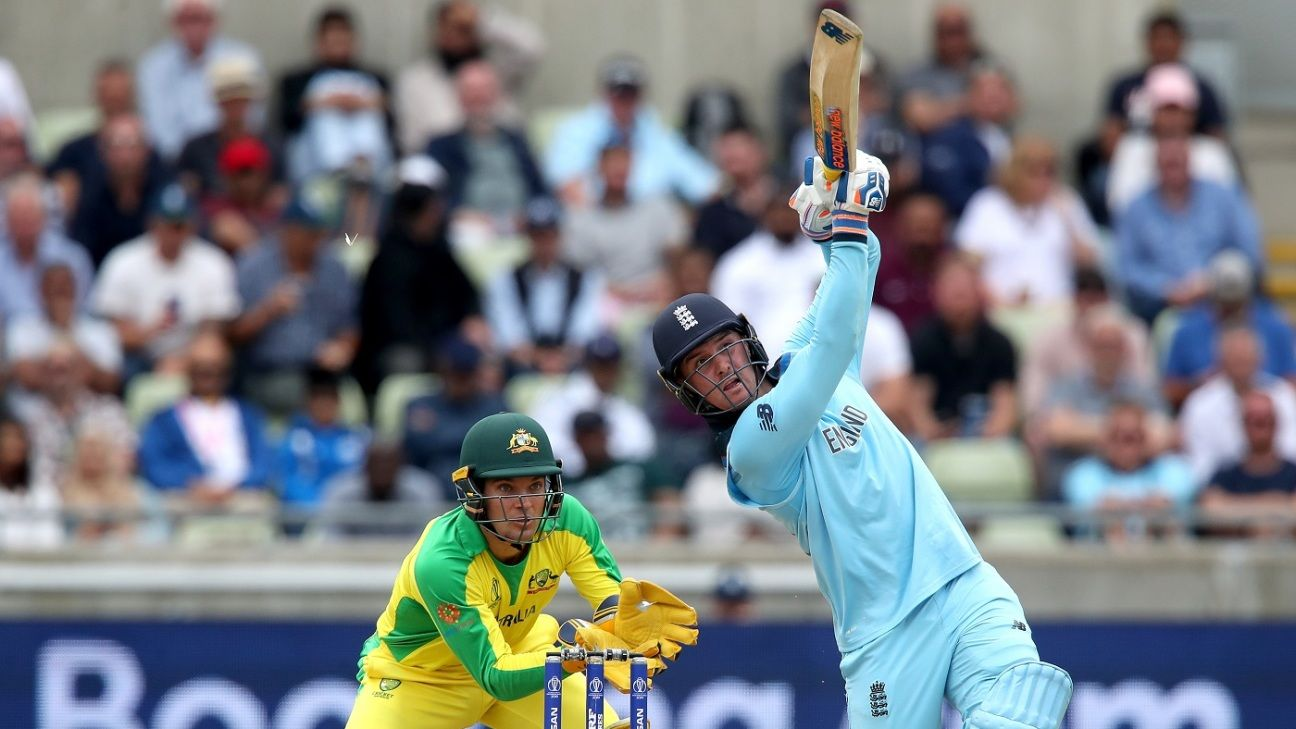 Jason Roy knows he's one for the big stage