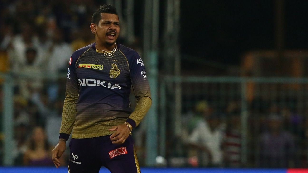 Narine and Pollard recalled for T20Is against India