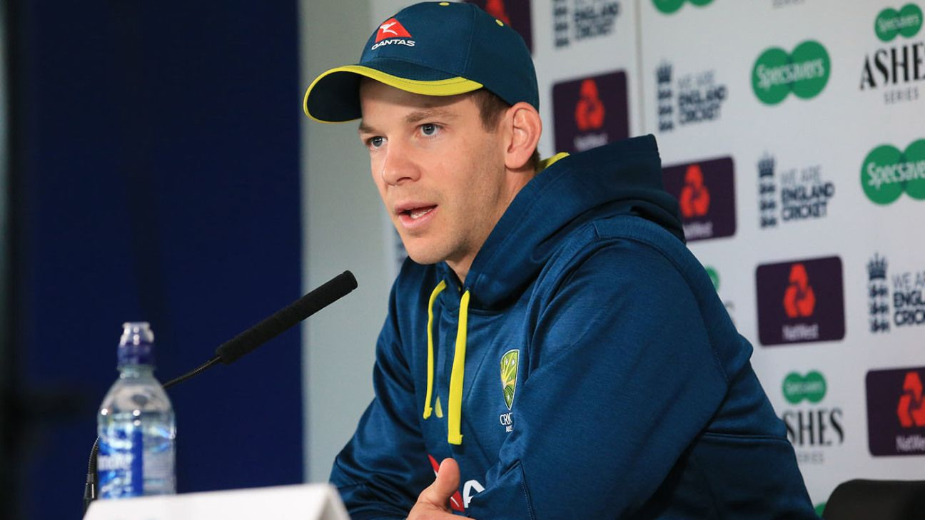 Australia 'are moving in the right direction' - Tim Paine