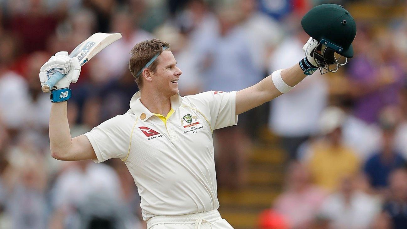 Steven Smith moves to No. 2 in Test rankings for batsmen