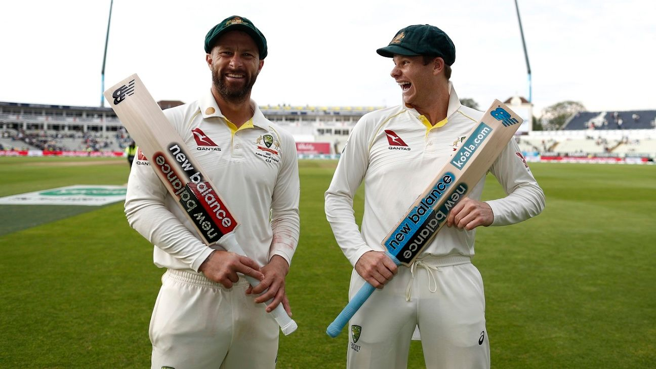 Specialist batsman Matthew Wade sheds the gloves and the pressure