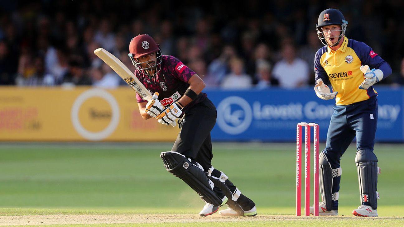 Babar Azam leads the way as Somerset hammer Essex