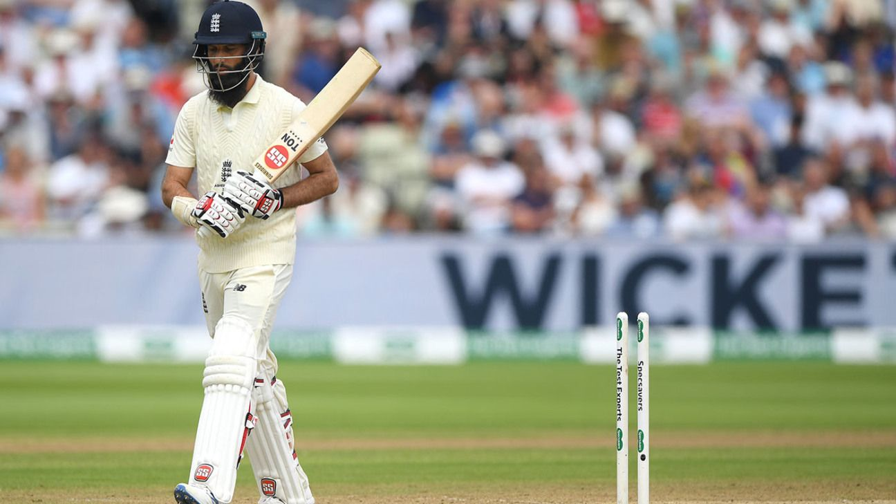 Moeen Ali set for 'short break' from cricket after Lord's omission
