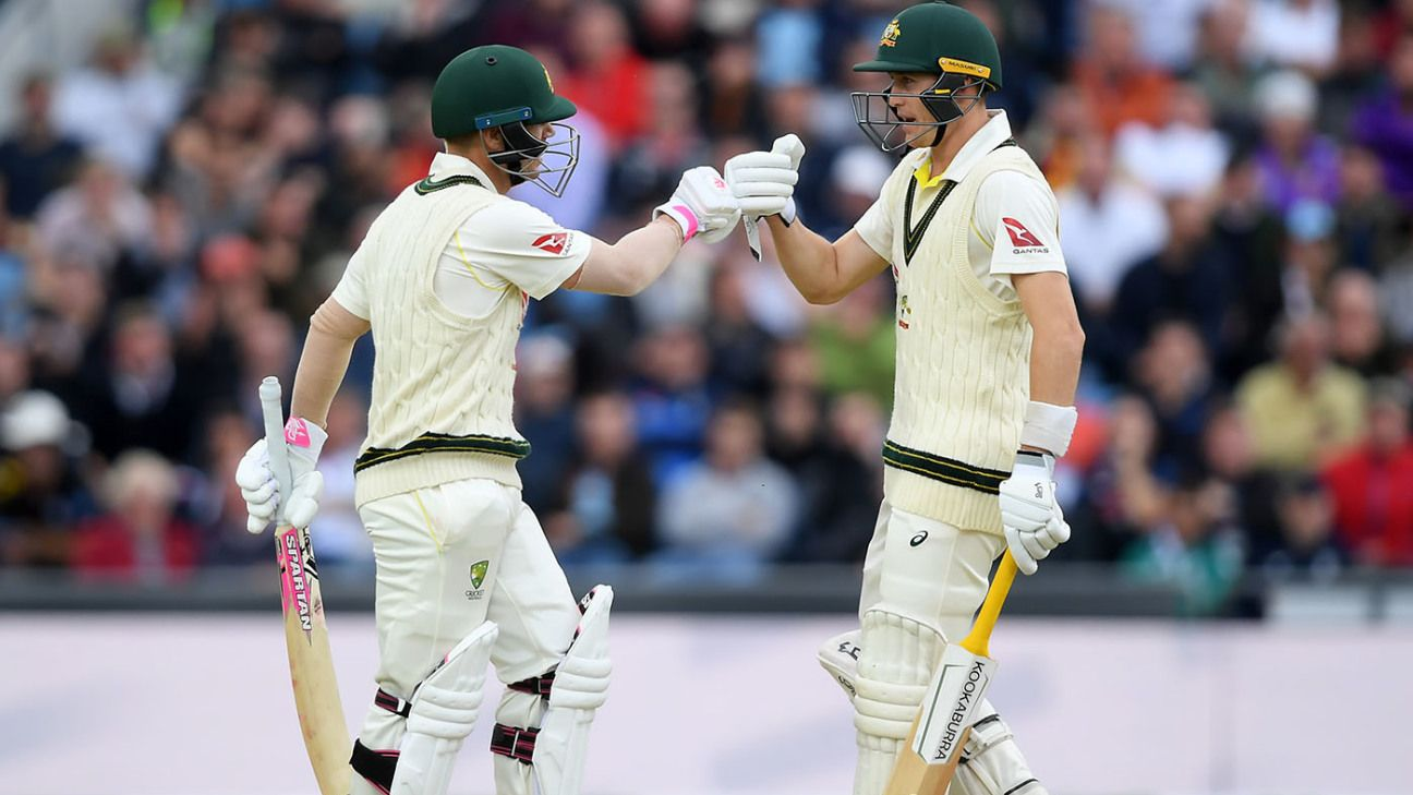 Australia ride their luck, but only so far