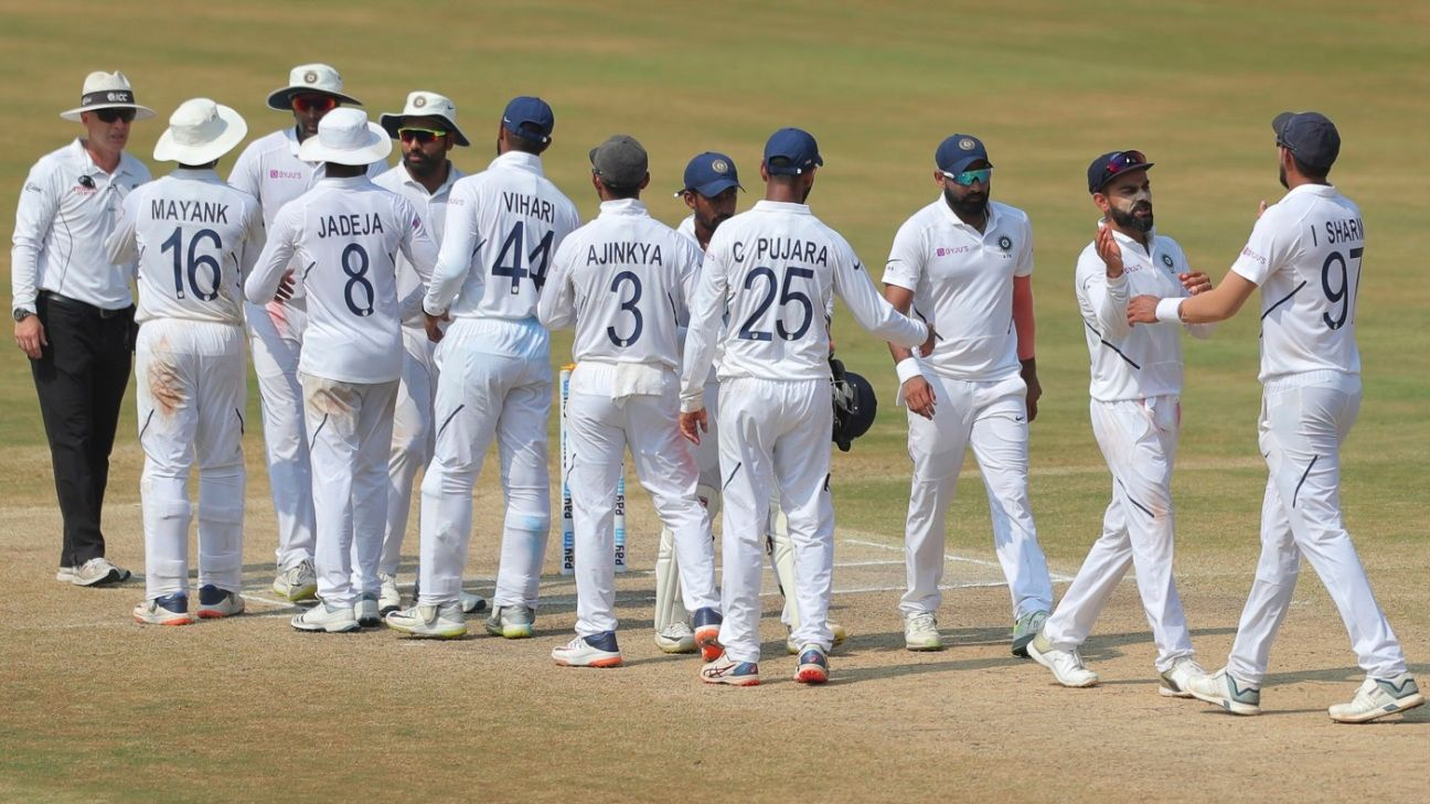 Live Report - India v South Africa, 2nd Test