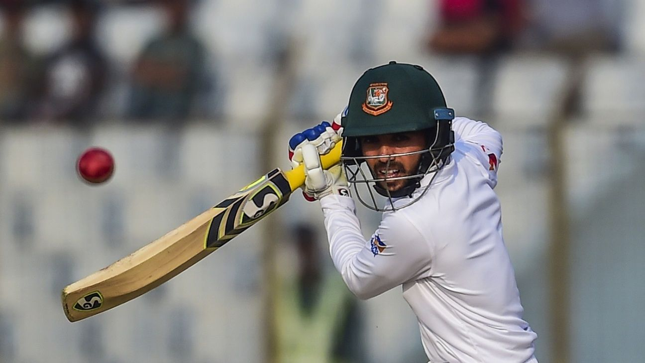 Mominul slips quietly into the hot seat for Test cricket's toughest gig