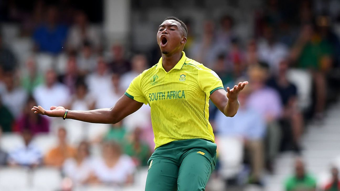 Lungi Ngidi injury a blow to South Africa ahead of Tests against England