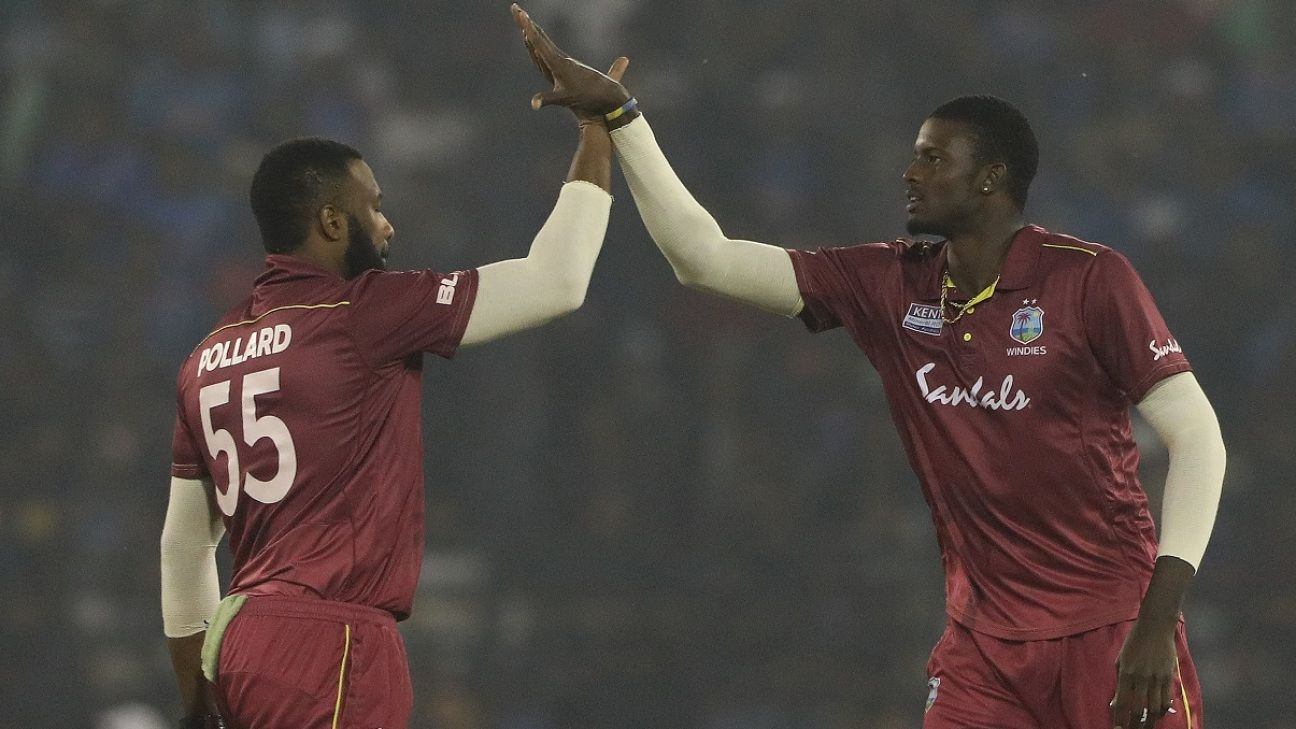 Jason Holder rested from West Indies squad for first two ODIs against Ireland