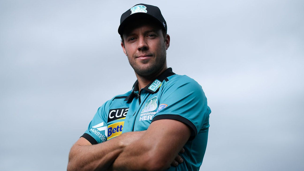 AB de Villiers feeling 'in some of the best form of my career' as he joins Brisbane Heat
