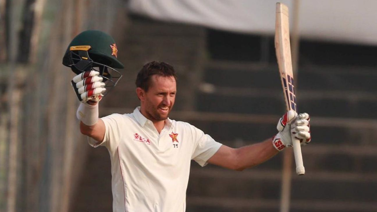 Ervine makes his opportunity in Test cricket count