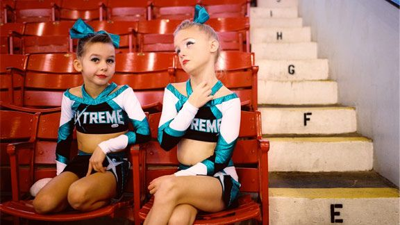 ESPN The Magazine  Grade-school girls who now compete in youth cheerleading  are pulling off unimaginable stunts and routines -- and possibly growing up  too ... 6c8423e78