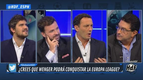 382edc8781e3a Caliente debate sobre el juego del Atlético Madrid en Hablemos de Fútbol -  ESPN Video