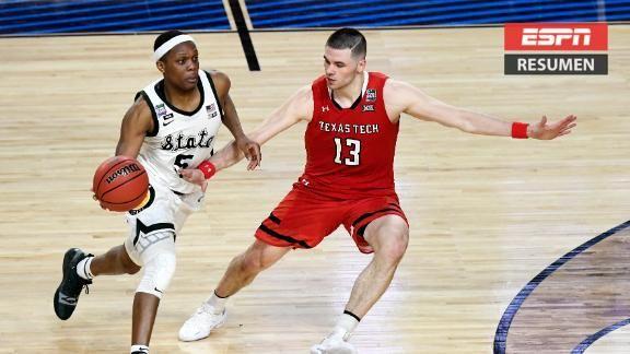 45048627ee74 Texas Tech con boleto directo a la Final de la NCAA - ESPN Video