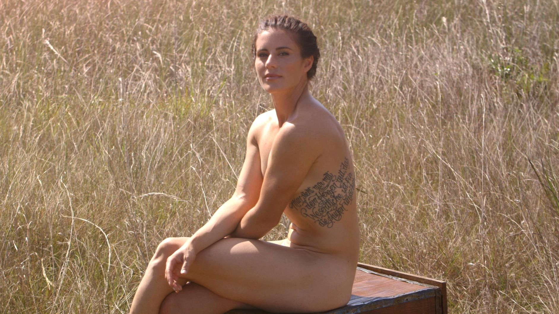 Aly Raisman Topless in SI Swimsuit Photoshoot - Punch Front