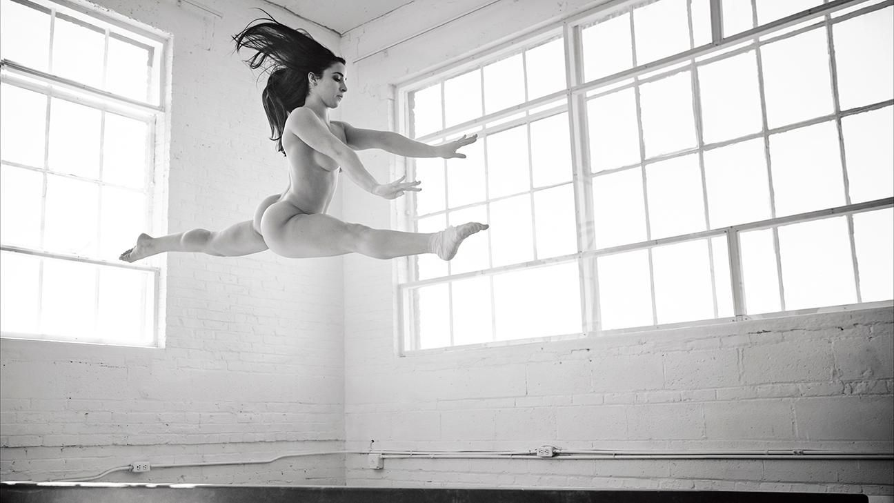 Aly Raisman Poses Nude for ESPN The Body Issue