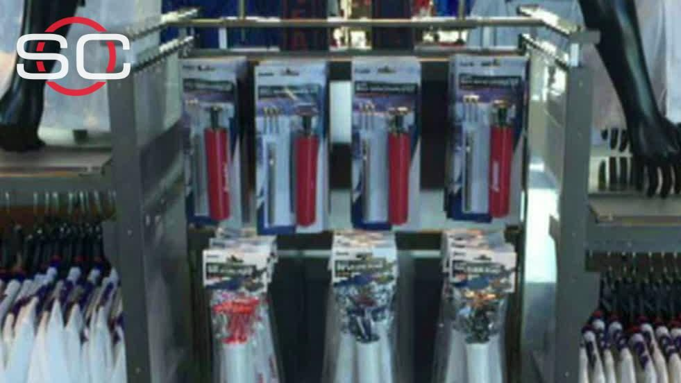 Bills poke fun at Patriots with air pumps in team store